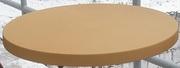 Столешница круглая,  диаметр 70см,  цвет коричневый