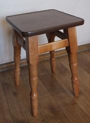 Табурет Точёные ноги (цвет сиденья ДСП: Яблоня)