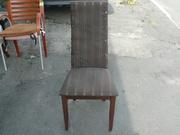 Продажа б.у. деревянных стульев с чехлом для кафе,  баров,  ресторанов